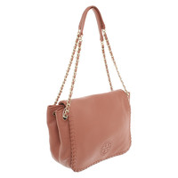 Tory Burch Shoulder Bag With Logo Embroidery Angle3