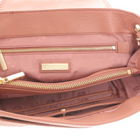 Tory Burch Shoulder Bag With Logo Embroidery Angle5