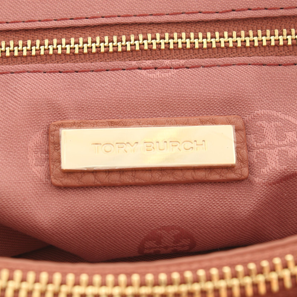 Tory Burch Shoulder Bag With Logo Embroidery
