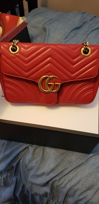 Authentic Gucci GG Marmont bag Angle12