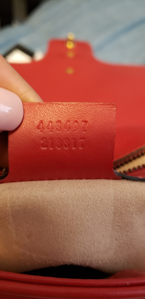Authentic Gucci GG Marmont bag