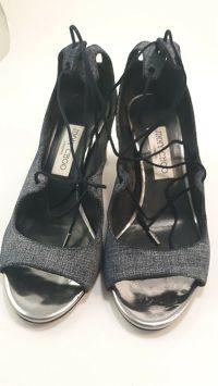 Jimmy Choo ballet strap sandals Angle2