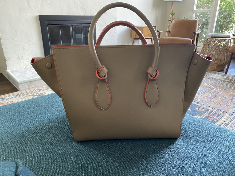 Cèline runway limited edition knot Tote