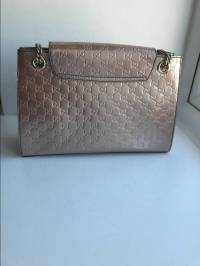 Guccissimo Patent Leather Shoulder bag Angle3