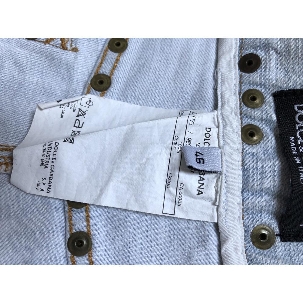 Dolce & Gabbana Jeans Cotton in Blue