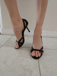 Jimmy Choo Genuine Leather Heels 9