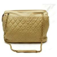 Chanel Leather Tote almost vintage  Angle1