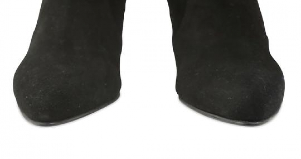 Black Tie Model Thigh High Boots/Booties