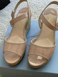 Espadrille Wedge Platform Sandals Angle4