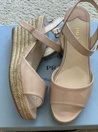 Espadrille Wedge Platform Sandals Angle2
