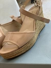 Espadrille Wedge Platform Sandals Angle7