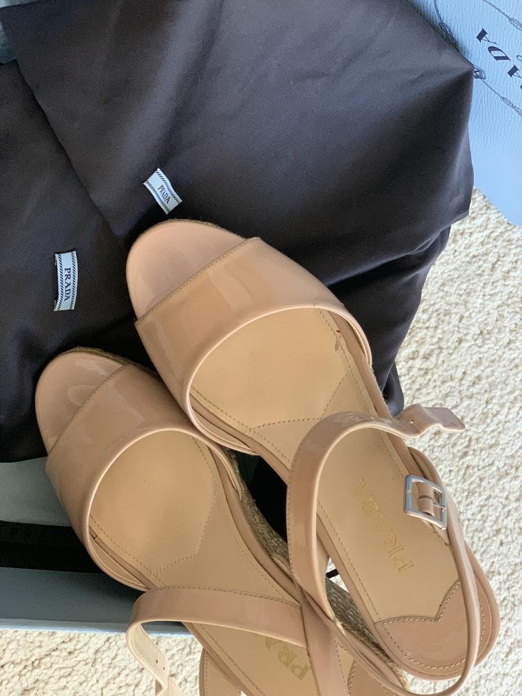 Espadrille Wedge Platform Sandals