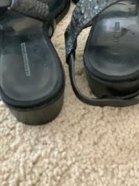Alligator leather sandals Angle6