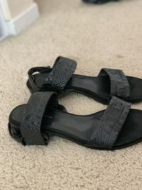 Alligator leather sandals Angle9