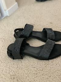 Alligator leather sandals Angle10
