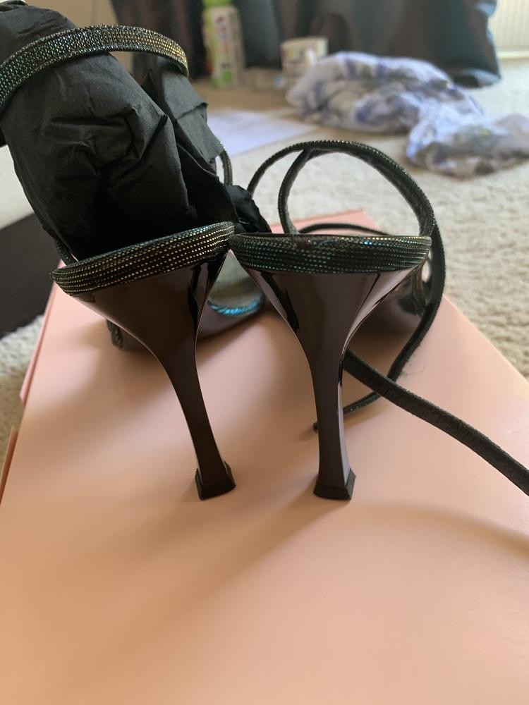 Roberto Cavalli Chameleon sandals