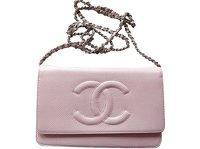 Chanel Pink WOC Angle7