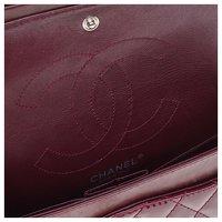 2.55 handbag in burgundy patent leather Angle3