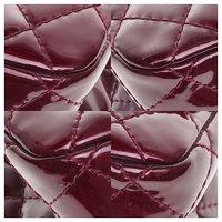 2.55 handbag in burgundy patent leather Angle5