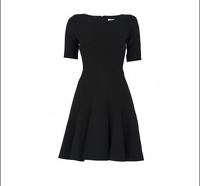 Prada Swing Black Dress size 38
