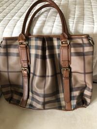 Large Burberry bag
