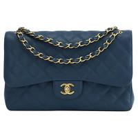 Chanel  Jumbo Blue