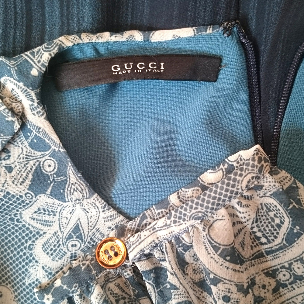 Gucci Spotted background dress