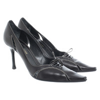 Sergio Rossi Pumps/Peeptoes Leather in Black