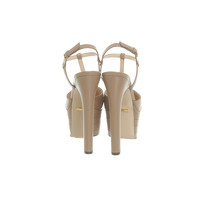 Gucci Sandals Leather in Brown Angle3
