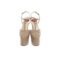 Gucci Sandals Leather in Brown Angle4