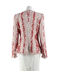 Multicoloured tweed jacket of Alexander McQueen Angle3