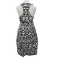 Parker Dress Black and White Angle3