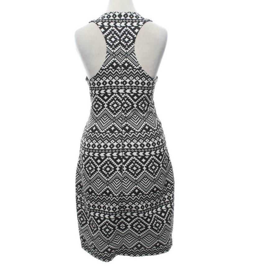 Parker Dress Black and White