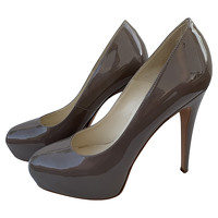 Brian Atwood Pumps/Peeptoes Patent leather in Taup