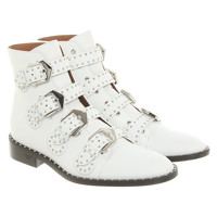Givenchy Boots Leather in White