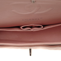 Chanel Classic Flap Bag Leather in Pink Angle6