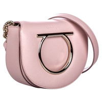 Salvatore Ferragamo Shoulder bag Leather in Pink