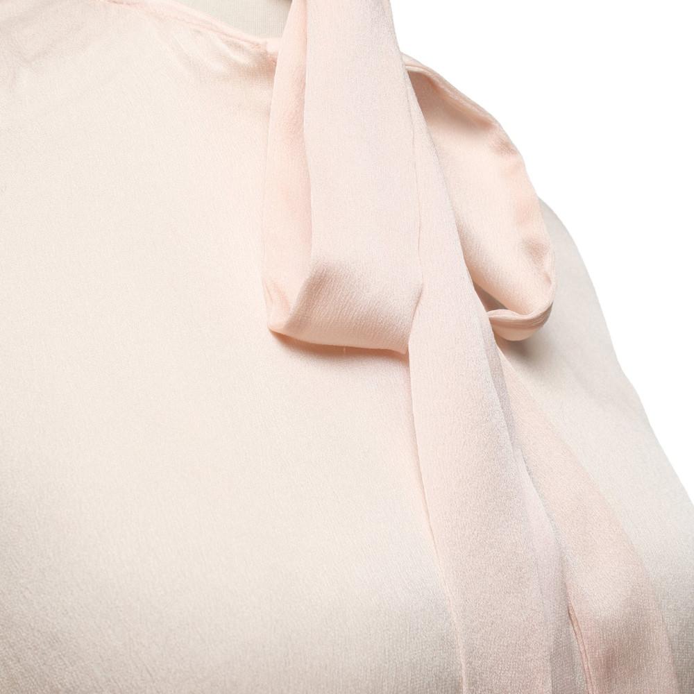 Haider Ackermann Top Silk in Nude