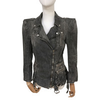 Balmain Jacket/Coat Jeans fabric in Grey