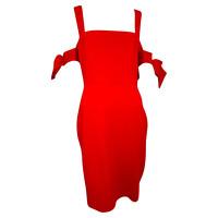 Badgley Mischka Dress in Red