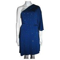 Halston Heritage, Studded one shouldered dress