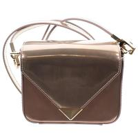 Alexander Wang MINI PRISMA METALLIC LEATHER CROSSB