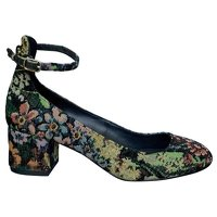 Sandro, Multicolored Jaquard pumps Angle1