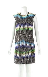 Peter Pilotto SILK MINI DRESS Angle1