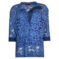 Carolina Herrera Top Cotton in Blue