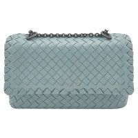 Bottega Veneta Olimpia Leather in Blue