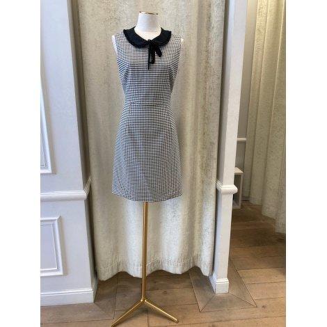 Black Houndstooth Claudie Pierlot dress