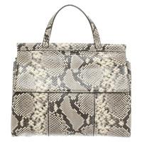Tory Burch Reptile Look Leather Handbag