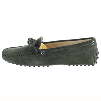 Tod's Suede Loafers Angle1