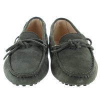 Tod's Suede Loafers Angle2